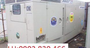 Máy phát điện Mitsubishi đã qua sử dụng công suất 400 KVA liên tục/ 440 KVA dự phòng. Máy phát điện đã qua sử dụng còn mới 85%